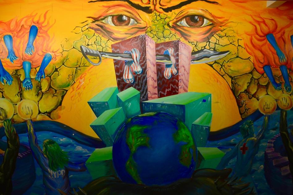Ariana D'Avanzo- 9-11 mural