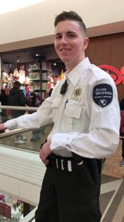 Teague Mall Cop Photo