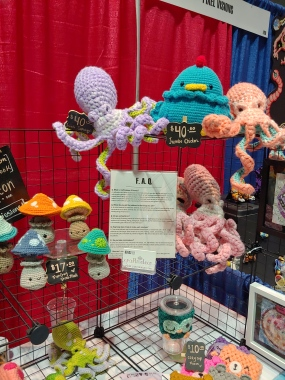 Craftmeleon crocheted figures
